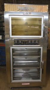 Nu vu Sub 123 Proofer Oven Combo 240v Double Decker Bread Baking Center