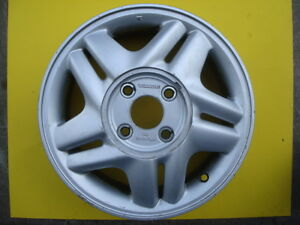96 97 Honda Accord 15 Aluminum Alloy Wheel Rim Oem 1996 1997