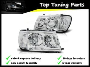 Toyota Land Cruiser Fj100 1998 2002 2003 2004 Headlights Lpto20