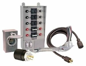 Reliance Controls Corporation 31410crk 30 Amp 10 circuit Pro tran Transfer Kit