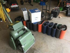 Wood Floor Sanding Machine Floor Sanders Lagler Hummel Super Hummel