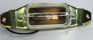 Guide L5 60 License Plate Light Assembly 1962 1964 Chevrolet Impala Belair