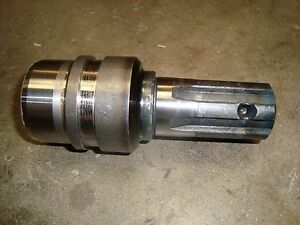 Weld on Tractor Implement Pto Stub Shaft 1 3 8 6spl X 2 1 4 od X 5 1 2 Oal New