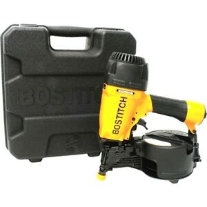 Bostitch N66c 1 15 Degree 2 1 2 In Coil Siding Nailer W Aluminum Housing New
