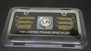 New Lexus Isf F Sport Chrome License Plate Frame Holder 2010 2011 2012 2013