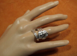 Daphne By Paye And Baker Sterling Bypass Spoon Ring Hand Made Sz 8