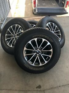 2018 Ford F150 Take Off Wheels And Tires 18 Inch