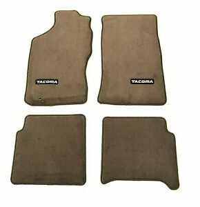 Toyota Oem 1996 2004 Tacoma Carpet Floor Mats Oak 00200 35964 16 Factory 4 Piece