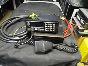 Ge Ericsson M a Com Orion D2hhg7 Vhf 110w 150 174mhz 2 Way Mobile Radio Complete
