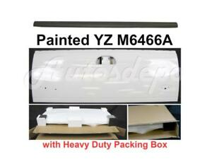 Painted White Tailgate Molding Upper Cap For Ford F150 Styleside 1997 2003