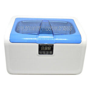 Jk Digital Ultrasonic Cleaner With Timer Heater2 5l Stainlesssteel Tank Fly
