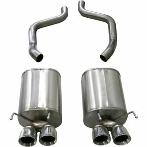 Corsa Exhaust System New For Chevy Coupe Chevrolet Corvette 2009 2013 14108