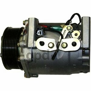 Gpd A C Ac Compressor New With Clutch For Honda Civic Acura 6511693