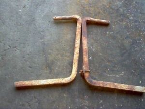 Official Ih Pair Of Rear Back Cultivator Tool Bars For Farmall Cub Tractors