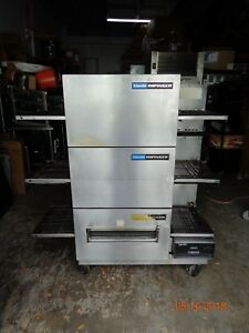 Lincoln Impinger Electric Triple Conveyor Pizza Oven Three Ovens