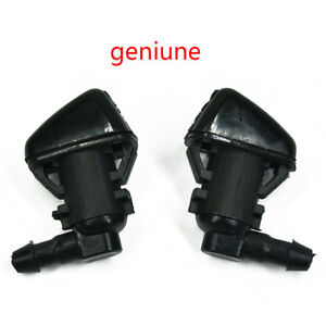 New 2x Windshield Wiper Water Spray Washer Nozzle For 2005 2010 Jeep Grand Chero