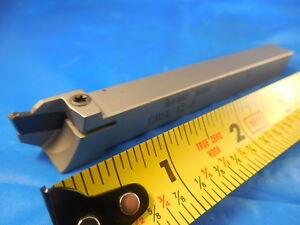 Iscar Ghsl 12 2 Cut Grip Groove Turning Parting Tool Holder Machine Shop Tools