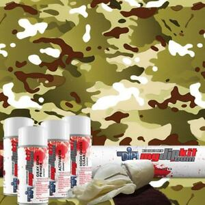 Hydro Dipping Water Transfer Printing Hydrographic Dip Kit Multi Camo Dd 963