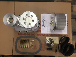 471 Sbc Small Block Chevy Dyer s Nostalgia Drive Kit Unpolished New