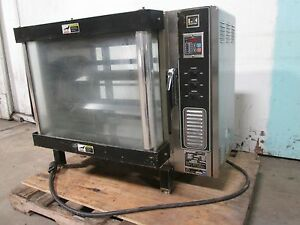 bki Dr34 Hd Commercial Counter Top 3ph Electric Rib chicken Rotisserie Oven