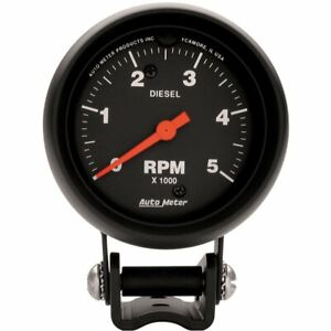 Auto Meter Performance Series Mini Tachometer Diesel 0 5 000 2 5 8 Dia 2888