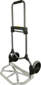 Welcom Mc2s Magna Cart Elite 200 Lb Capacity Folding Hand Truck Silver