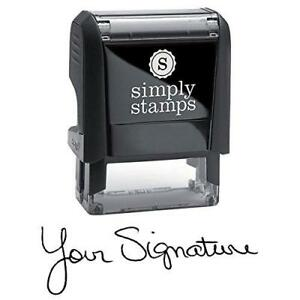 Custom Signature Stamp Self Inking Personalized
