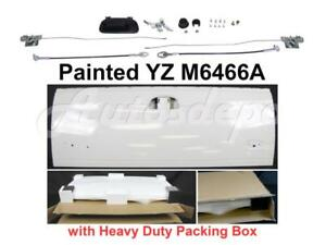 Painted White Tailgate Hardware Lock Kit For Ford F250 F350 F450 1999 2007