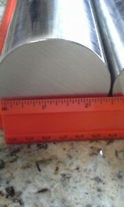2 Pieces 2 1 2 Dia 304 Stainless Steel Bar Stock 6 Long