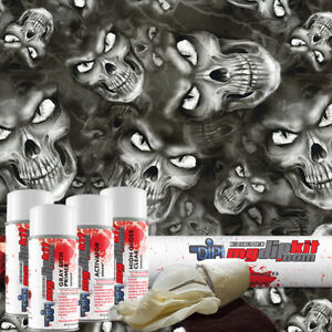 Hydro Dipping Water Transfer Printing Hydrographic Dip Kit Ape Skull Dd 934