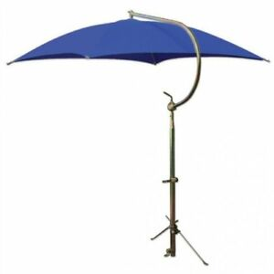 Tractor Umbrella With Frame Mounting Bracket 54 10 Oz Duck Canvas Blue