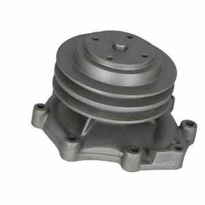 Water Pump Double Grove Pulley Ford 6610 4000 2000 7610 3000 5610 6600 4110