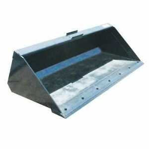 Stout Skid Steer Material Bucket With Double Cutting Edge 84 Width
