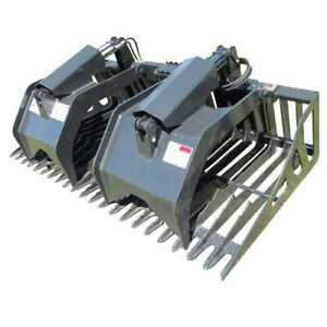 Stout Skid Steer Loader Rock Grapple 72