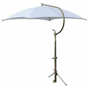 Tractor Umbrella With Frame Mounting Bracket 54 10 Oz Duck Canvas White