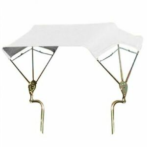 Snowco 3 bow Tractor Canopy With Frame Fender Mount 48 White