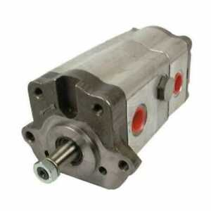 Power Steering Pump Tandem Economy Compatible With Massey Ferguson 175 165