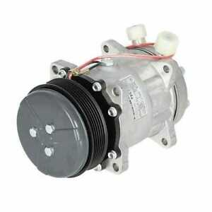 Air Conditioning Compressor Aftermarket W clutch New Holland Ford 7740 6640