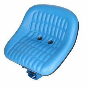 Seat Assembly Vinyl Blue Ford 5000 5600 2000 3600 4000 3000 4600 2600 6600 4110