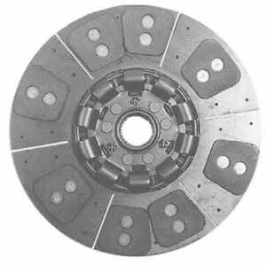 Clutch Disc 8 Pad White Oliver Massey Ferguson Allis Chalmers
