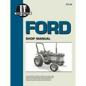 I t Shop Manual Ford 2120 2120 1520 1520 1920 1920 1220 1720 1720 1320 1320