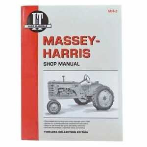 I t Shop Manual Massey Harris 22 22 44 44 101 101 30 30 20 20 102 102 Pony Pony