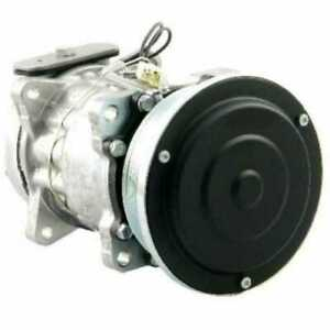 Air Conditioning Compressor W clutch Vertical Pad Fitting Ford 6640 7740 5640