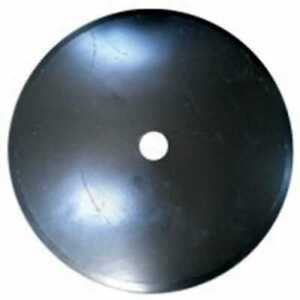 Disc Blade 24 Smooth Edge 1 4 Thickness 1 1 2 Round Axle