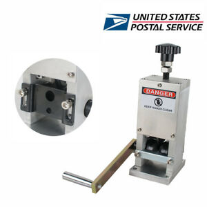 Manual Wire Stripping Machine Copper Cable Peeling Stripper Equipment Ca Usa Ups