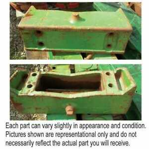 Used Weight Bracket Compatible With John Deere 4230 4050 4240 7700 3020 4020