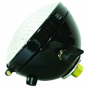 Tail Light Assembly 6v Black W switch Round John Deere G B A R Aa4762rt