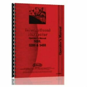Service Manual 5088 5288 5488 International 5288 5088 5488
