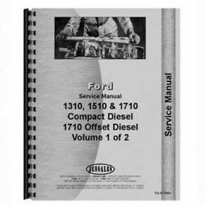 Service Manual 1310 1510 1710 Ford 1710 1310 1510