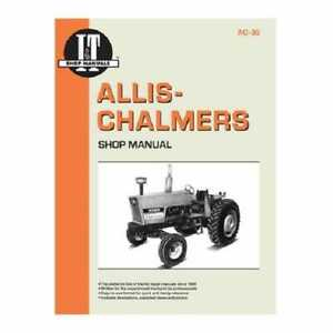 I t Shop Manual Allis Chalmers 6060 6060 6080 6080 6070 6070